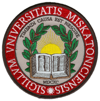 Miskatonic University Embroidered Patch