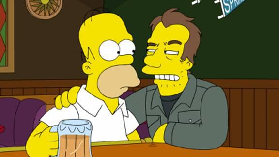Tom Waits on the simpsons